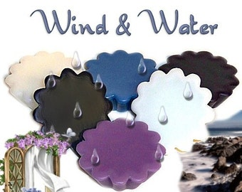 6 Wind & Water Tarts Candle Melts Variety Pack Fresh Clean Water Scents