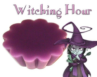 4 Witching Hour Tarts Wickless Candle Melts Tea Citrus Patchouli Scent