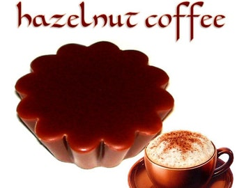 4 Hazelnut Coffee Tarts Potpourri Wickless Candle Melts Nutty Scent