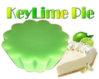 4 Keylime Pie Tarts Wickless Candle Melts Lime Scent