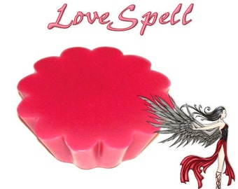 4 Lovespell Scented Tarts Wickless Candle Melts Fruit and Floral Scent