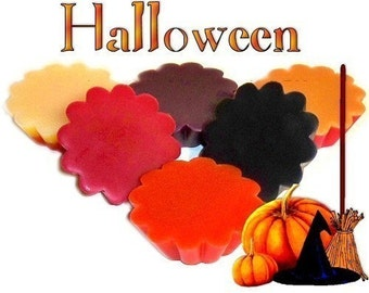 6 Halloween Variety Pack Wax Tarts Wickless Candle Melts Fall Scents