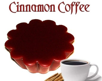 4 Cinnamon Coffee Tarts Wickless Candle Melts Coffee and Spice Scent