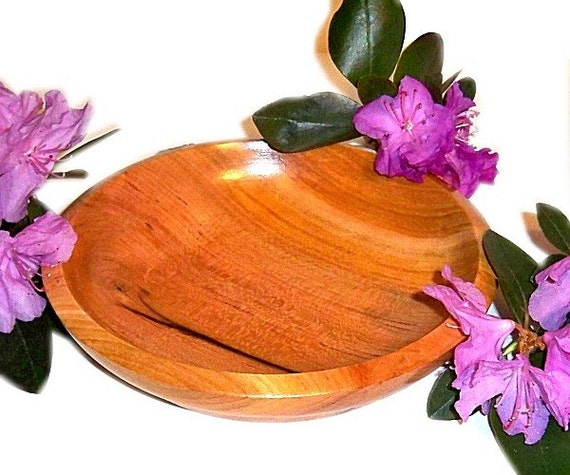 Wooden Candle Coaster Change Dish Home Decor Handmade Wood Dish 1