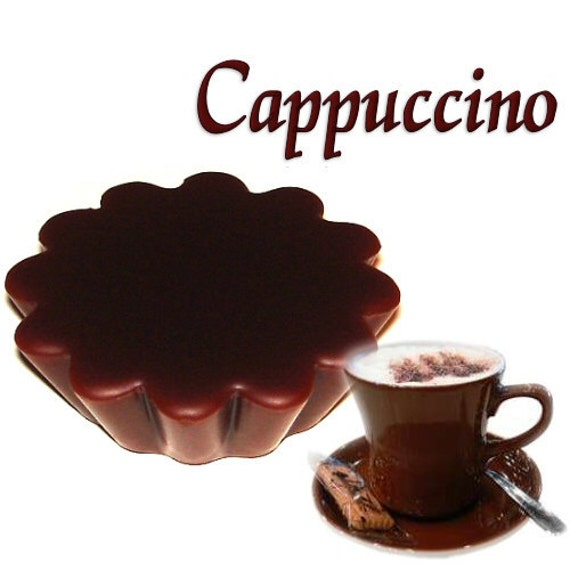4 Cappuccino Tarts Wickless Candle Melts Coffee Scent
