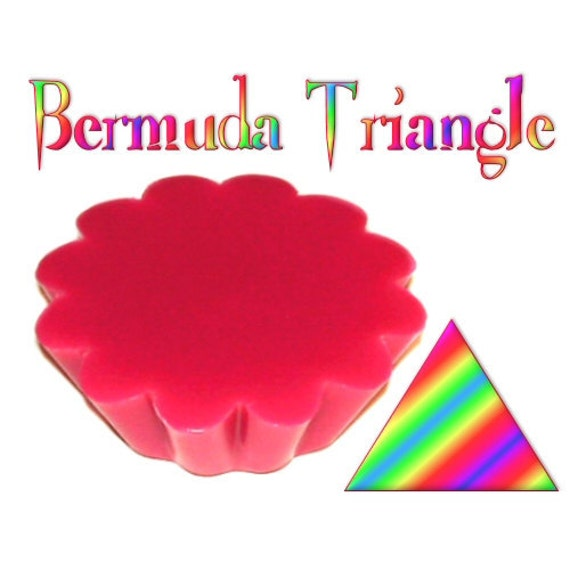 4 Bermuda Triangle Tarts Candle Melts Melon and Citrus Fruit Scent