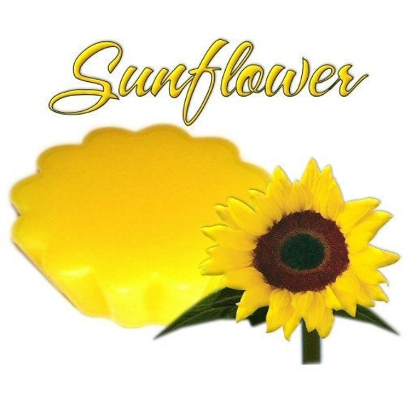 4 Sunflower Tarts Wickless Candle Melts Floral  Scent