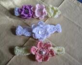 Infant Headband Crochet Photo Props