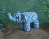 PDF AfricAmi Elephant amigurumi CROCHET PATTERN