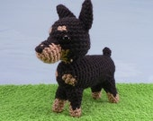 AmiDogs Miniature Pinscher amigurumi dog PDF CROCHET PATTERN