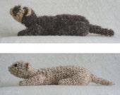 PDF Fuzzy Ferret amigurumi CROCHET PATTERN
