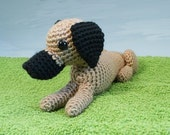 AmiDogs Great Dane amigurumi dog PDF CROCHET PATTERN