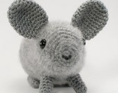 PDF Chinchilla amigurumi CROCHET PATTERN