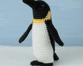 PDF Emperor Penguin amigurumi CROCHET PATTERN