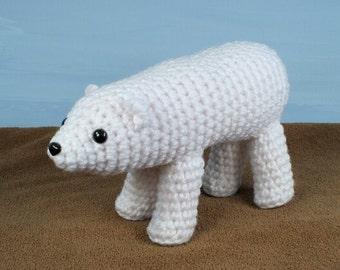 PDF AquaAmi Polar Bear amigurumi CROCHET PATTERN