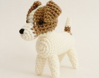 PDF AmiDogs Jack Russell Terrier amigurumi dog CROCHET PATTERN