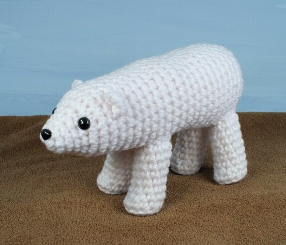 PDF AquaAmi Polar Bear amigurumi CROCHET PATTERN