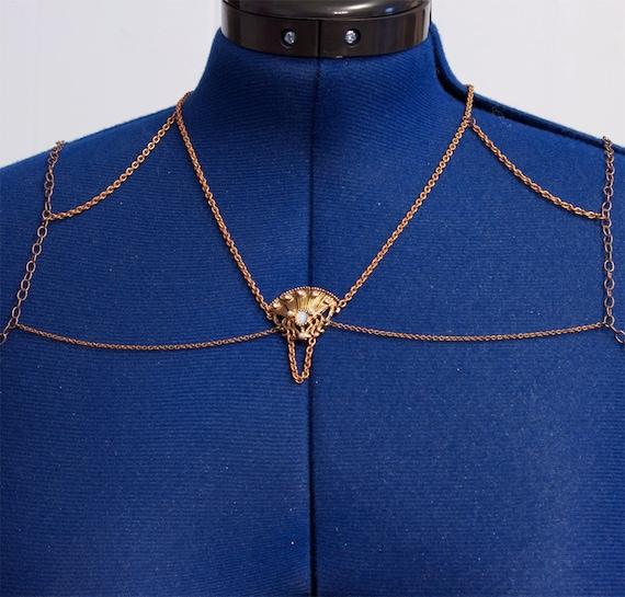 Art Nouveau Body Harness - Medusas Constraint by TheRabbitHole