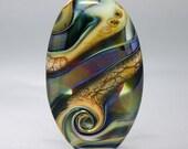 Irony - Lampwork Focal Bead by Whitney Scott-Lassini