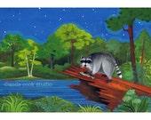raccoon on the chattahoochee