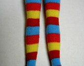 Stockings - bright striped