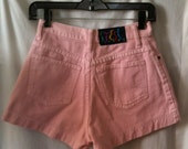 VINTAGE 90's Pink Denim Shorts