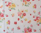 Japanese Fabric Strawberry flower 1/2 yard