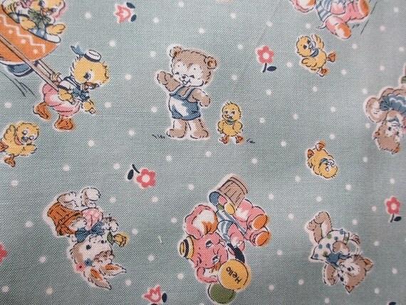 Japanese Fabric MERRY BONBON half yard