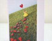 018 - let your heart run free - greeting card