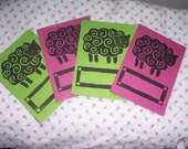 Book Plate Set-Black Sheep