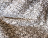 Wool Throw - Handwoven