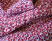 Cotton Baby Blanket - Red