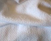 Cotton Baby Blanket - Handwoven White