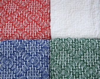 4 - Handwoven Hand Towels