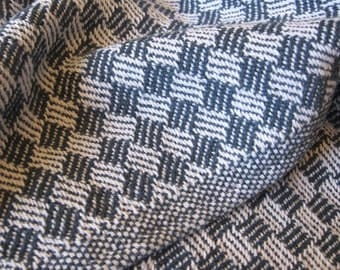 Handwoven Cotton Baby Blanket