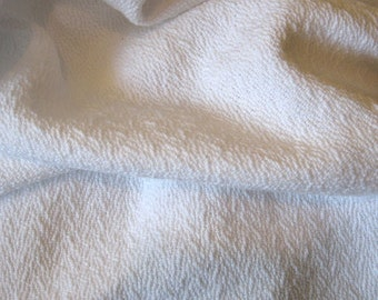 Cotton Baby Blanket - Handwoven White