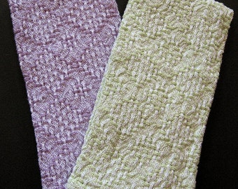 Handwoven Hand Towels - pair