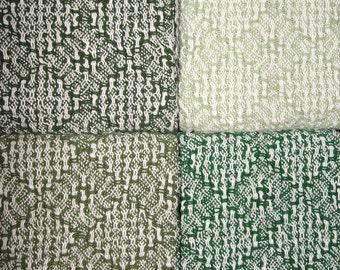 4 - Handwoven Hand Towels