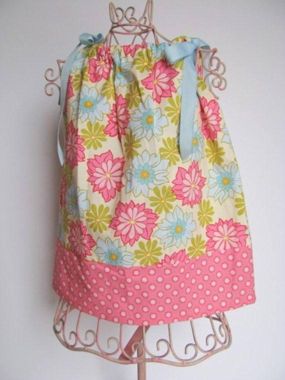New for Summer Vintage Lei   Belle Ribbon top\/dress sizes 12months-girls size 8 by K Bella Bambino