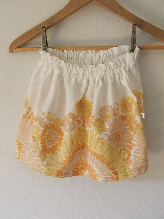sunburst skirt sz 1-3 yrs