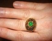 ViNtAgE Egyptian Eye Ring