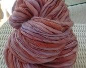 ROSE handspun thick and thin yarn