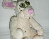 Harry the Hare - A needle felt ooak art doll