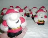 Lulus stabby santa ornament