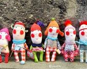 Poupée de créateur personnalisée ( faite sur commande) / Custom art doll ( made on order)