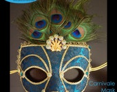 Carnivale Peacock Mask