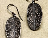Wedge Earrings- Botanical (and Tapestry)