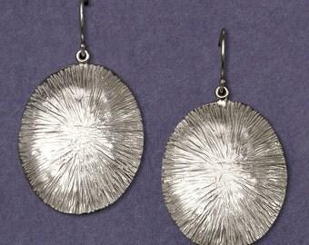 Barnacle earrings (large ovals)