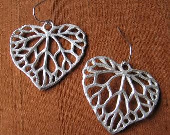 Ivy Leaf Earrings-Large