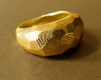 Odessi Ring-gold vermeil-